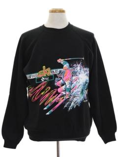 1980's Unisex Totally 80s Sports Sweatshirt