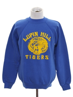 1980's Unisex Totally 80s Sports Sweatshirt