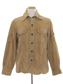 1970's Mens Corduroy Shirt Jacket