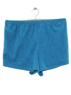 1980's Womens Totally 80s Terry Cloth Shorts