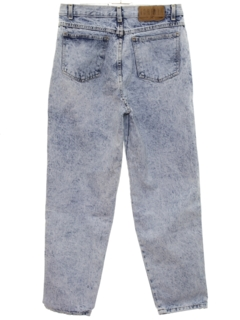 1990's Womens Acid Washed Denim Jeans Pants