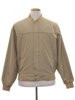 1980's Mens Golf Zip Jacket