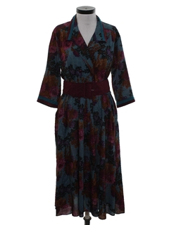 1980's Womens Secretary Dress