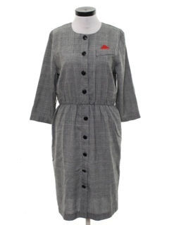 1980's Womens Secretary Dress