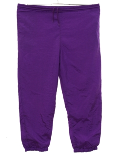 1970's Womens Baggy Totally 80s Track Pants