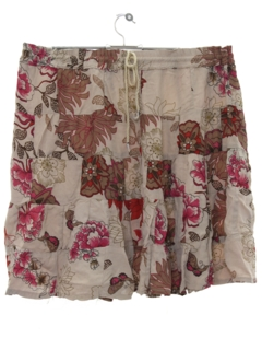 1990's Womens Hippie Broomstick Skirt