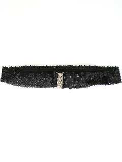 1960's Womens Accessories - Sequined Belt