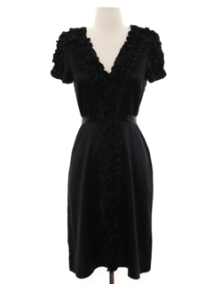 1940's Womens Prom Or Cocktail Dress