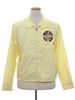 1960's Mens Golf Zip Jacket