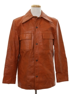 1960's Mens Leather Leisure Jacket