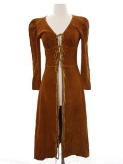 1960's Womens Hippie Dress