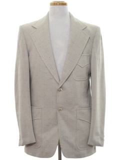 1970's Mens Disco Blazer Sport Coat Jacket