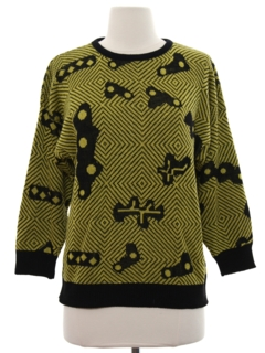 1980's Womens Totallly 80s Sweater