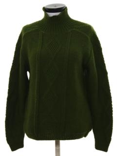 1970's Unisex Mod Sweater
