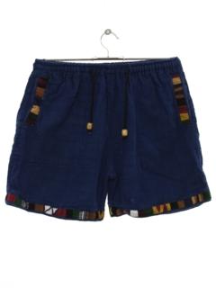 1990's Unisex Hippie Shorts