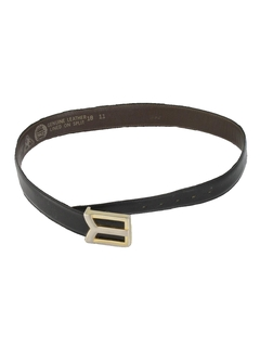 1980's Unisex Accessories - Totally 80s Leather Belt