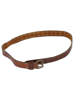 1990's Mens Accessories - Wicked 90s Leather Belt