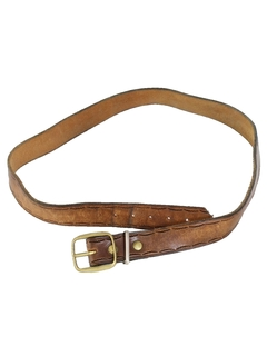 1980's Mens Accessories - Western Leather Belt