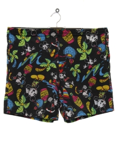 1990's Mens Wicked 90s Disney Swim Shorts