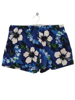 1960's Womens Hawaiian Swim Shorts