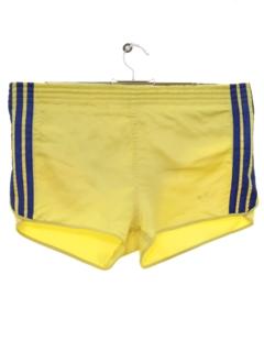 1980's Mens Totally 80s Soccer Sport Shorts