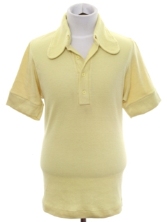 1970's Mens/Boys Knit Golf Shirt