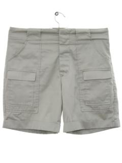 1960's Mens Cargo Sport Shorts