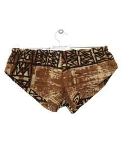 1960's Womens Mod Hawaiian Swim Shorts