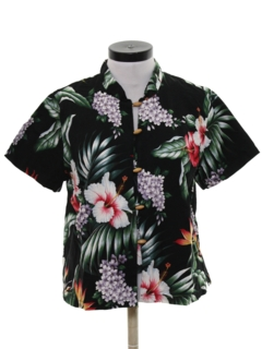 1980's Womens Hawaiian Shirt