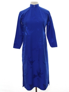1990's Womens Cheongsam Dress