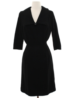 1960's Womens Blended Wool Dress