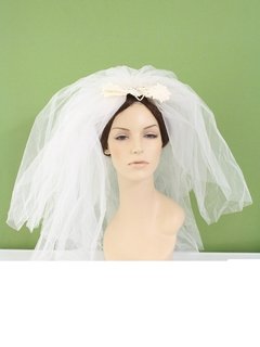 1970's Womens Accessories - Wedding Veil