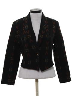 1980's Womens Blazer Style Jacket
