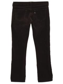 1980's Womens Corduroy Jeans Pants