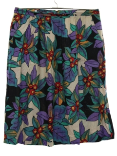 1980's Womens Womens Hippie Skirt