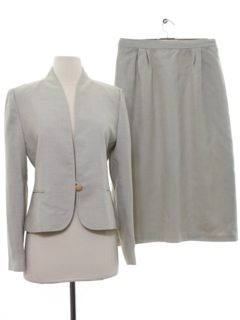 1970's Womens Womens Skirt Suit