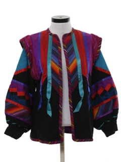 1990's Womens Hippie Jacket