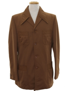 1970's Mens Mod Safari Style Jacket