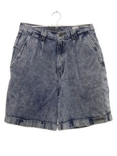 1980's Womens Acid Washed Denim Shorts