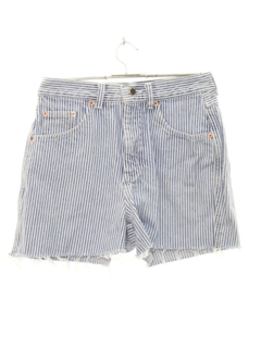 1980's Womens Cutoff Denim Shorts