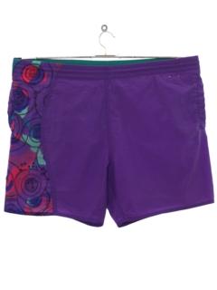 1990's Mens Wicked 90s Swim Shorts