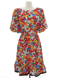 1980's Womens Square Dance Dress