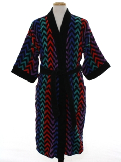 1980's Mens Totally 80s Terry Cloth Robe