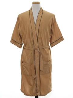 1970's Mens Velour Robe