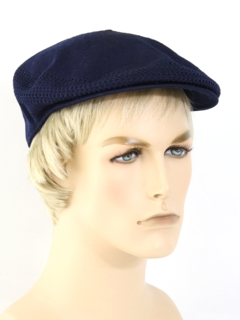 1980's Mens Accessories - Golf Style Newsboy Hat