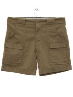 1980's Mens Cargo Sport Shorts