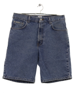 1980's Mens Denim Jeans Style Shorts