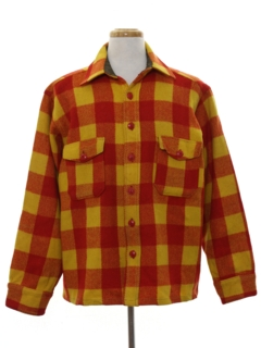 1950's Mens Shirt Jacket