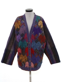 1980's Womens Hippie Jacket