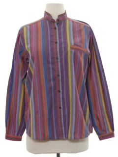 1970's Womens Totally 80s Mod Shirt